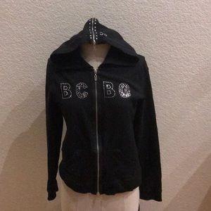 BCBG bling jacket size medium